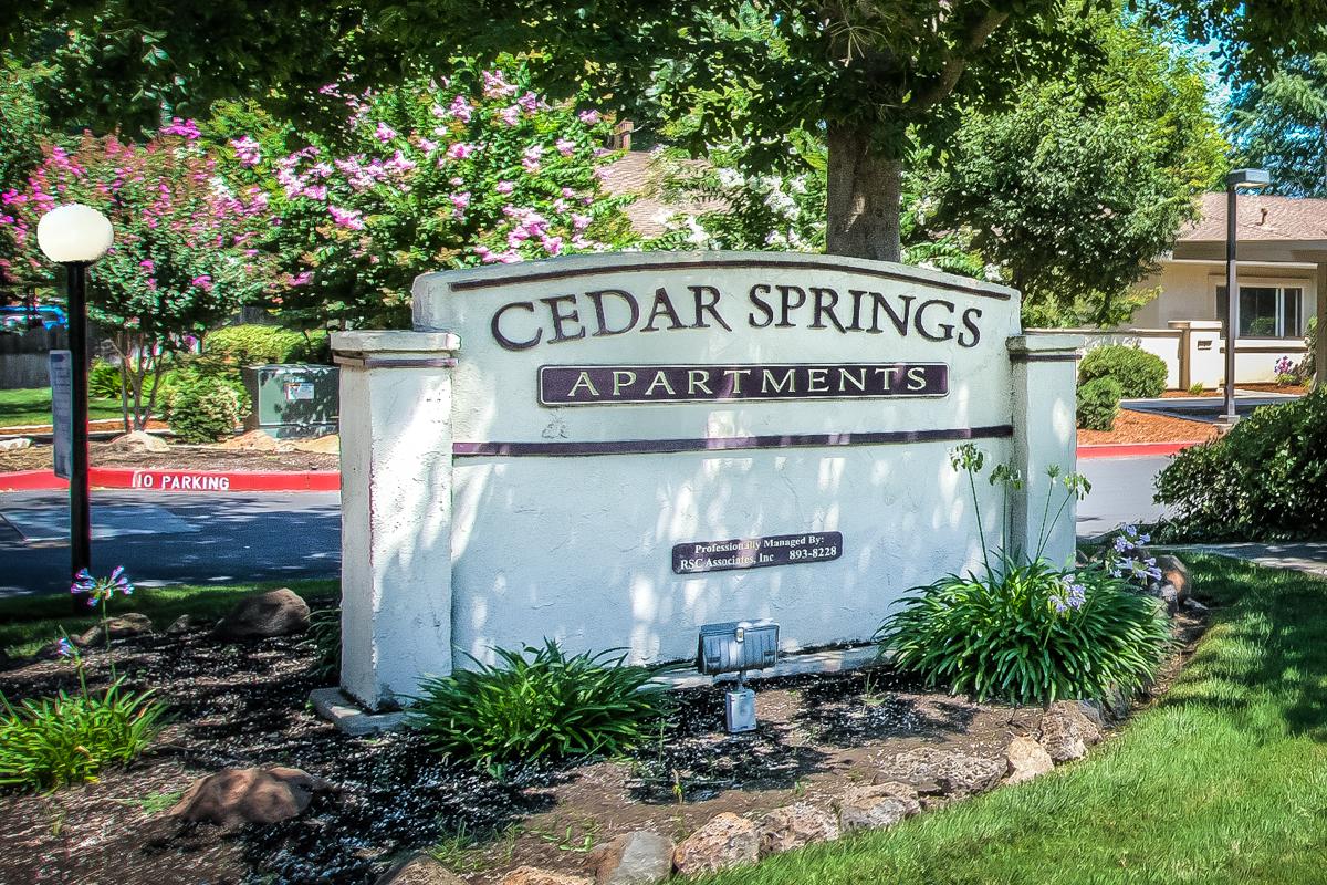 Cedar Springs Apartments Chico